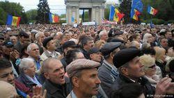 Десятки тысяч молдаван протестовали против коррупции