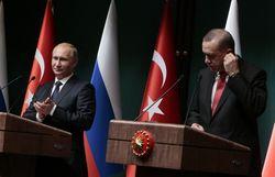 Путин и Эрдоган провели беседу без прессы
