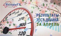 PrivateFX: за три месяца лучшие ПАММ-счета принесли от 128% до 261% прибыли