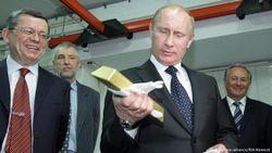 Путин поставил на золото - и проиграл