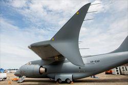 Украинский Ан-178 показал себя в деле на выставке в Берлине