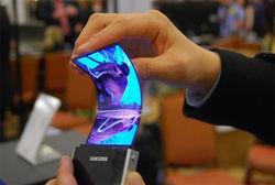 В 2015 году Samsung Electronics представит гибкие дисплеи