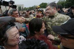Славянск станет символом свободного Донбасса – Порошенко