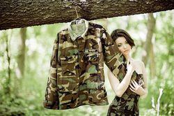 «Мисс диаспора» поддержала участников АТО патриотической фотосессией