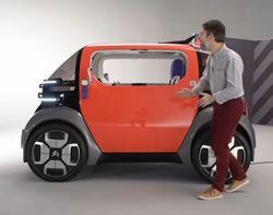 На рынок выводят электромобиль, управлять которым можно без прав