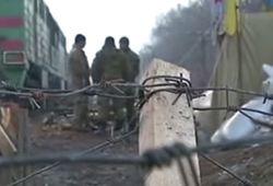 Полиция снесла редут активистов блокады в Луганской области