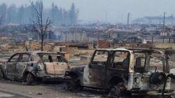 Лесные пожары в Канаде могут переброситься на соседнюю провинцию