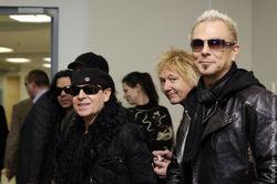 Scorpions поздравили украинцев с Новым годом и пожелали удачи Евромайдану