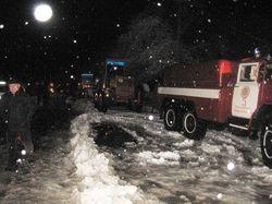 В Украине появились первые снежные завалы - зимние затраты начались