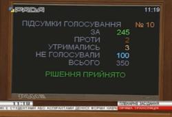 ВР приняла закон о мобилизации студентов и аспирантов