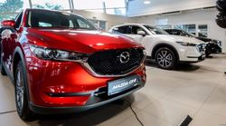 Новая Mazda CX-5 презентована в Беларуси