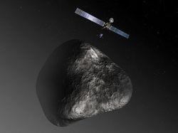 """Космический зонд Розетта сделал свой первый звонок """"домой"""" после спячки"""