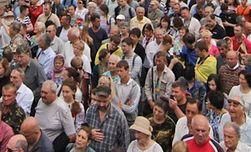 Население Украины сокращается, число переселенцев растет