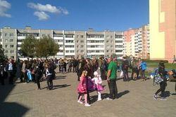 Эвакуация школ в Молодечно прошла спокойно