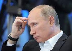 В. Путин на большой пресс-конференции