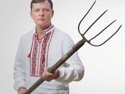 Ляшко привез на Майдан дубинки и каски, МВД просит не поддаваться на провокации депутата