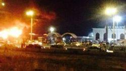 Пожар на Ташкентском рынке