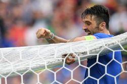 Евро-2016: Италия отправила испанцев домой, забив 2 безответных гола