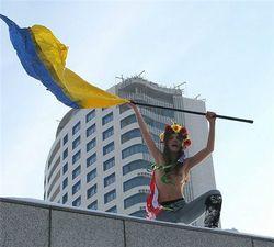 В Европе скучно – основательница FEMEN