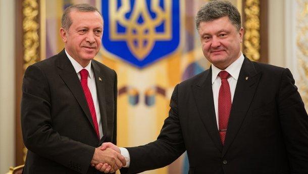 Порошенко поддержал Эрдогана ипоручил усилить меры безопасности вУкраинском государстве