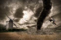 От серии торнадо в США пострадало более 50 млн. американцев, есть жертвы