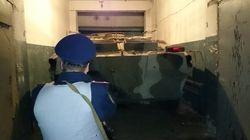 На коммунальном предприятии Харькова нашли БТР и оружие