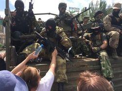 Сепаратисты сожгли избирательные бюллетени всей Донецкой области