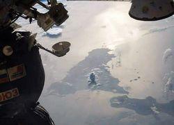 Извержение вулкана Этна показали из космоса