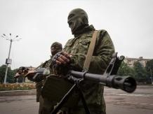 Горняки вышли на улицы Кировска с протестом против захвата шахты боевиками