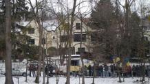 втомайдан у дома Азаровых в Вене