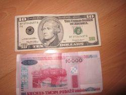 Курс белорусского рубля на Форекс падает к евро и фунту стерлингов