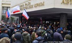 ВС Крыма заблокировали сторонники присоединения к России