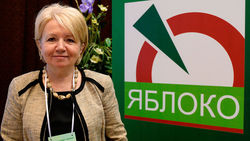 "Председатель ""Яблока"" Эмилия Слабунова"