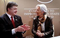 Порошенко договорился с Лагард об обновлении сотрудничества Украины с МВФ