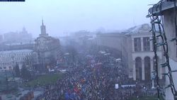 На Евромайдане в Киеве произошла драка – причины