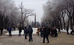 ОМОН разогнал народный сход националистов в Волгограде