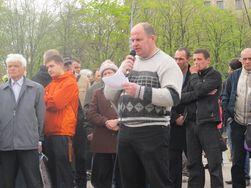 В Харькове 300 митингующих избрали «народного губернатора»