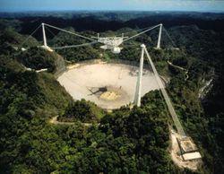 Один из самых больших радиотелескопов мира закрылся на ремонт