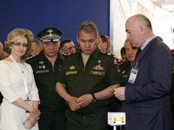 Сергей Шойгу прибыл с официальным визитом в Крым