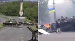 АТО в действии: под Славянском силовики уничтожили блокпост
