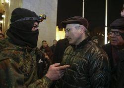 Михаил Ходорковский в Киеве
