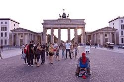 Туристы в Берлине