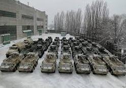 Военные вывели из Артемовска 1,9 тысячи единиц бронетехники и оружие