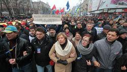 Как в 2004г.: на новый Евромайдан в Киеве вышло 500 тыс. человек
