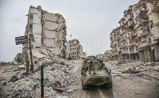 Нафугасе вСирии подорвался русский автомобиль своенспецами