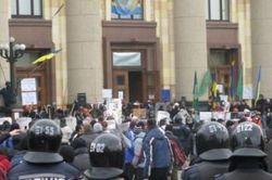 Харьковский облсовет отказался проводить референдум по федерализации и языку