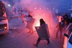 МВД задержало в Киеве четверых участников беспорядков