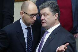 Партия Яценюка и Блок Порошенко предстанут на выборах в отдельности