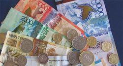 Курс тенге на Форекс укрепился к евро на рекордные 1,19%