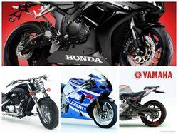 Ведущие 30 брендов и продавцов мотоциклов сентября 2014г. в Интернете